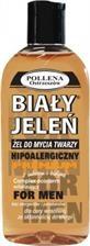 Hipoalergiczny żel do mycia twarzy BIAŁY JELEŃ FOR MEN z imbirem i biotyną, 175 ml