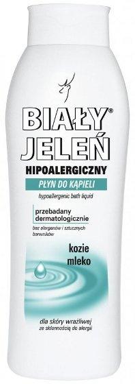 Hipoalergiczny płyn do kąpieli BIAŁY JELEŃ z kozim mlekiem,750 ml
