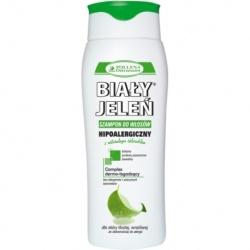 Hipoalergiczny szampon BIAŁY JELEŃ z naturalnym chlorofilem, 300 ml