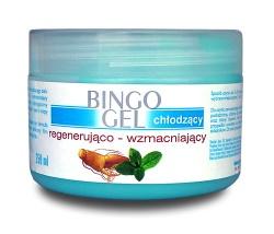 Bingo Gel, żel, chłodzący, do masażu i wcierania, 500 ml
