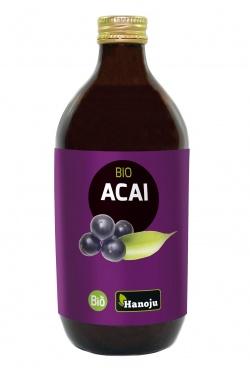 Organiczne puree z Acai 100% 500ml