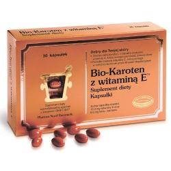Bio-Karoten + Witamina E, kapsułki, 30 szt