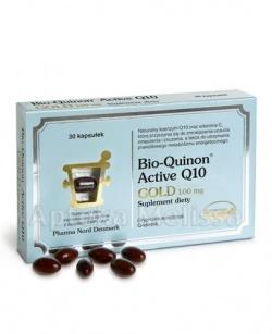 Bio-Quinon Active Q10 Gold, 100 mg, kapsułki, 30 szt