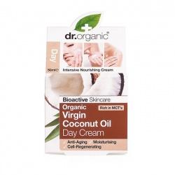Organiczny Krem na Dzień Olej Kokosowy Virgin 50 ml
