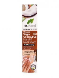 Organiczny Krem do Rąk i Paznokci Olej Kokosowy Virgin 100 ml
