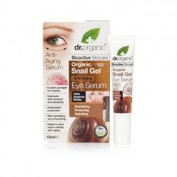 Organiczne serum pod oczy ze śluzu ślimaka, 15 ml