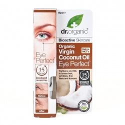 Organiczne Błyskawicznie Wygładzające Serum Wokół Oczu Olej Kokosowy Virgin, 15 ml