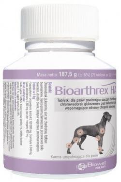BIOARTHREX HA Ochrona stawów i kośćca psów, 75 tabletek
