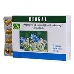 Biogal zimnotłoczony olej z nasion ogórecznika lekarskiego 60 kapsułek