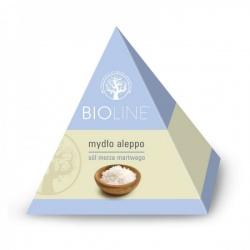 Bioline, mydło aleppo, sól morza martwego, 100 g