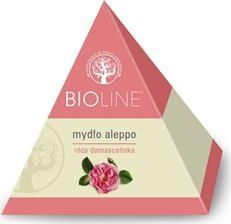 Bioline, mydło aleppo, róża damasceńska, 100 g