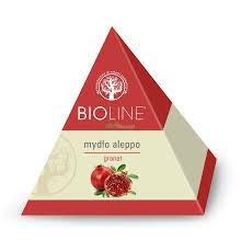 Bioline, mydło aleppo, granat, 100 g