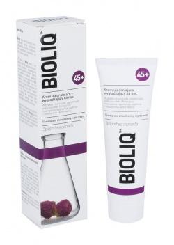 Bioliq 45+, krem ujędrniające-wygładzające na noc, 50 ml