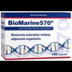 BioMarine 570, kapsułki z olejem z wątroby rekina, 180 szt