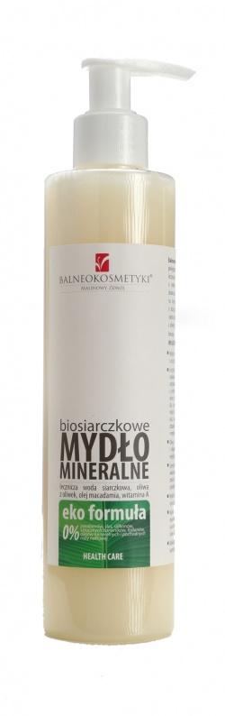 Biosiarczkowe Mydło mineralne w płynie - EKO formuła 250ml
