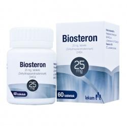 Biosteron, 25 mg, 60 tabletek