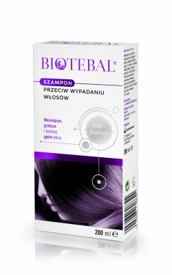 Biotebal, szampon przeciw wypadaniu włosów, 200ml