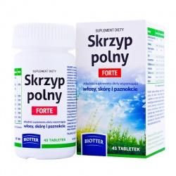 Biotter Skrzyp Polny Forte, 45 tabletek