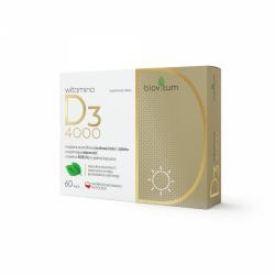 COLFARM  Biovitum Witamina D3 4000, 60 kapsułek