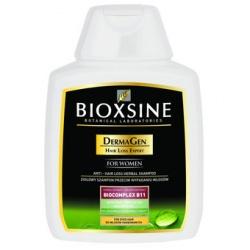 Bioxsine DermaGen to ziołowy szampon do włosów, przeciw ich nadmiernemu wypadaniu, dla włosów farbowanych