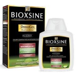 Bioxsine DermaGen to ziołowy szampon do włosów, przeciw ich nadmiernemu wypadaniu, dla włosów z tendencją do powstawania łupieżu