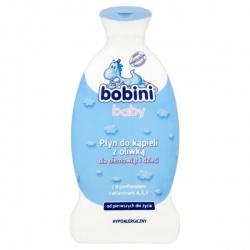 Bobini Baby, płyn do kąpieli z oliwką, 400 ml