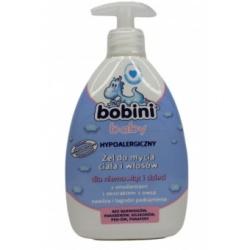 Bobini Baby, żel, do mycia ciała i włosów, od 1 dnia, 400m