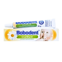 Bobodent, żel, 10 g