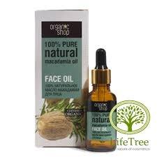 Organic shop, olej Makadamia do skóry i włosów, 30ml