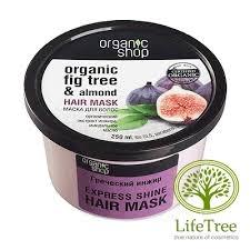 Organic shop, Ekspresowa maska nadająca włosom blask, 250ml