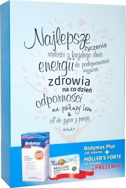 Bodymax Plus, tabletki, 200 szt + Moller's Forte, kapsułki, 30 szt