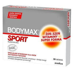 Bodymax sport, 30 tabletek