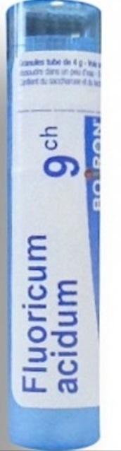 Boiron Fluoricum acidum, 9CH, granulki, 4 g