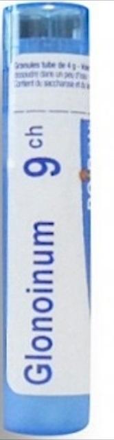 Boiron Glonoinum, 9CH, granulki, 4 g