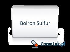 Boiron Sulfur