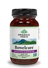 Bowelcare, Organic India, 60 kapsułek