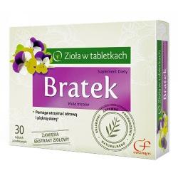 Bratek, tabletki powlekane, 30 szt