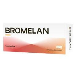 Bromelan, tabletki dojelitowe, 30 szt