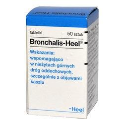 Heel-Bronchalis, tabletki podjęzykowe, 50 szt