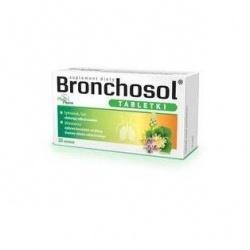 Bronchosol, 20 tabletek