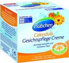 Bübchen, Calendula Bio - Krem do pielęgnacji twarzy, 75ml