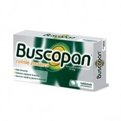 Buscopan Hyoscini butylbromidum, tabletki powlekane, 10 mg,10 sztuk