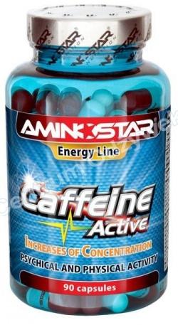 AMINOSTAR - CAFFEINE - 90kaps 200mg