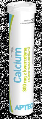 Calcium 300 mg z kwercetyną, 20 tabletek musujących