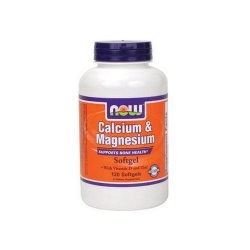 NOW - Calcium and Magnesium - 120 kaps