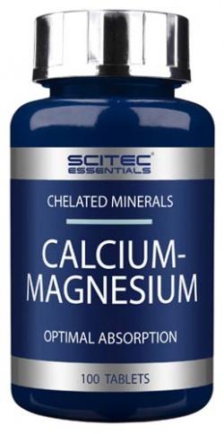 SCITEC - Calcium-Magnesium - 100tab