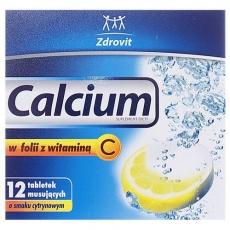 Calcium w folii z witaminą C