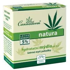 Cannaderm Natura, Mydło nawilżające z pH 5,5