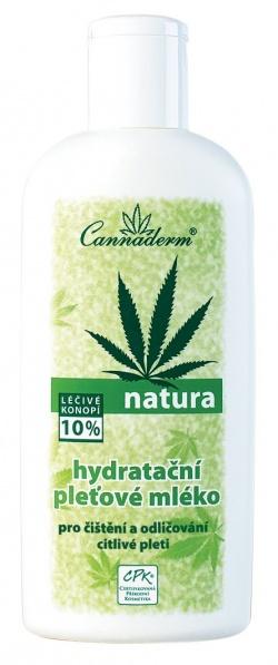 Cannaderm Natura - Odżywcze mleczko do ciała, 200ml
