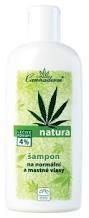 Cannaderm Natura, szampon do włosów normalnych i przetłuszczających się, 200ml